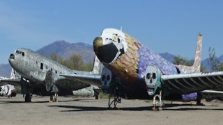 Welcome to the largest aircraft boneyard in the WORLD - ABC15 Digital - Video