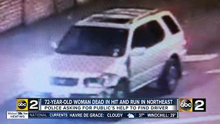 Woman killed in hit and run in Northeast Baltimore, family wants justice - Video