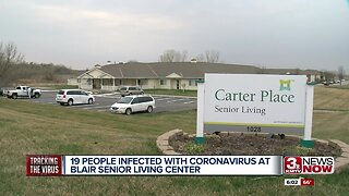 19 people infected with coronavirus at Blair senior living center