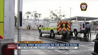 Harvey aftermath: Bay Area crews head to Texas - Video