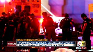 Woman recalls horror at Las Vegas Jason Aldean concert - Video