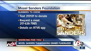 $80,000 needed to help Mozel Sanders Foundation feed 40,000 families - Video