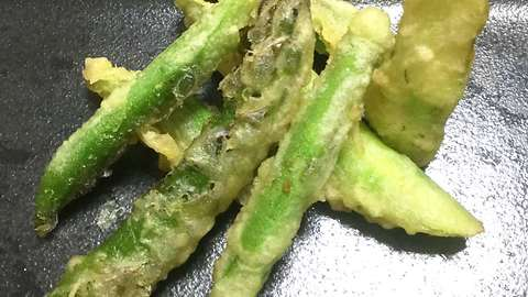 Japanese recipes: How to make asparagus tempura