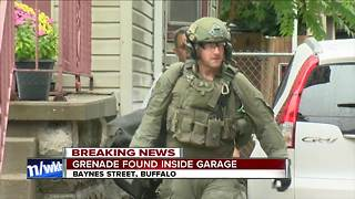 Police: Grenade found in home on Buffalo's west side - Video