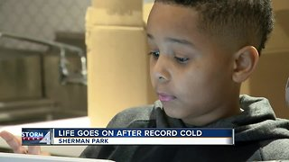 Life goes on after record cold in Milwaukee