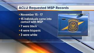 ACLU calling for MSP to investigate alleged racial profiling