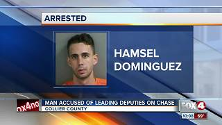 Man Accused of Leading Deputies on Chase - Video