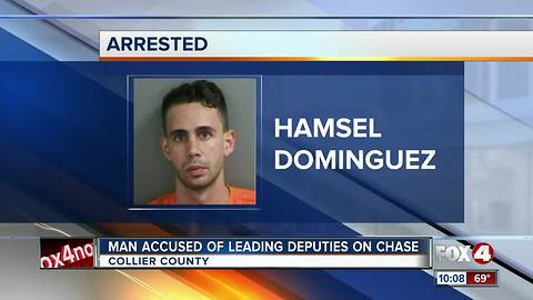 Man Accused of Leading Deputies on Chase