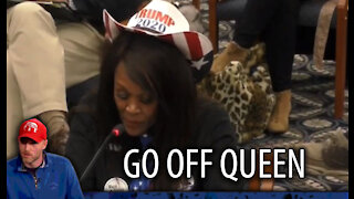 Black Trump Supporter GOES OFF in Michigan Hearing