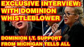 Exclusive Interview: Dominion Machines Whistleblower Discusses Her Michigan Testimony & Mike Lindell Absolute