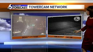Snow tapers off mid-day Thursday but another round expected this weekend - Video