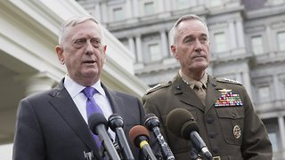 Mattis Gives Final Advice On Transgender Military Service