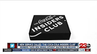"""New service called """"The Coca-Cola Insiders Club"""""""