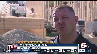 New Southport Police Dept Being Built - Video