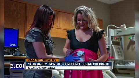 Made in Idaho: 'Dear Darby' gowns provide comfort, confidence during childbirth