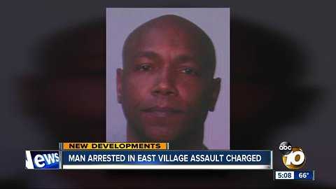 Transient charged with East Village assault