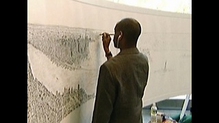 Man Draws NYC From Memory - Video
