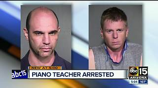 Piano teacher, husband accused of child porn possession - Video
