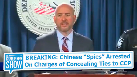 """BREAKING: Chinese """"Spies"""" Arrested On Charges of Concealing Ties to CCP"""