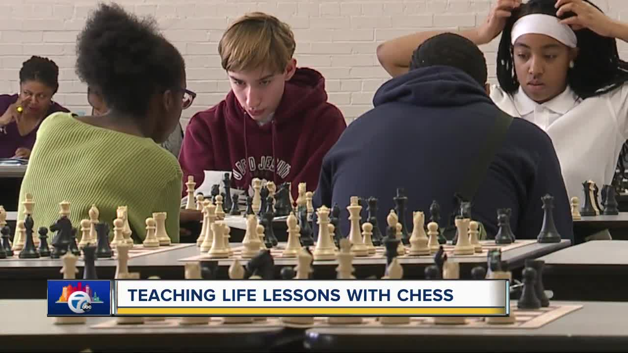 7 in Your Neighborhood: Teaching life lessons with chess