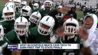 West Bloomfield, Clarkson to meet in MHSAA football championship - Video