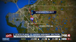 State moves forward with plans to widen highway section - Video