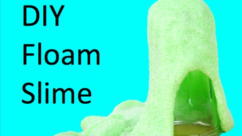 DIY Floam slime