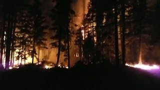 Month-Old Norse Peak Fire Tears Through 52,000 Acres - Video