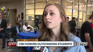College of Southern Nevada honors students - Video