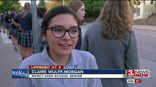 Mercy High School students extend warm welcome to incoming freshman - Video