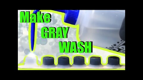 ✅How to make👉 BLACK and GRAY WASH for TATTOOING 👈