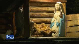 Nativity statue of Baby Jesus stolen from Menasha church - Video