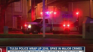 Tulsa Police Wrap Up 2016s Spike In Major Crimes