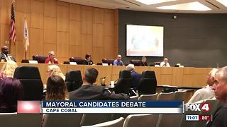 Cape Coral candidates for mayor debate - Video