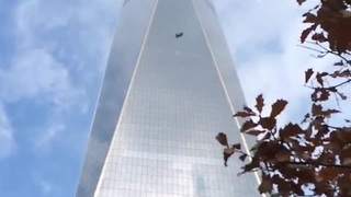 Window washers rescued from 68th floor of World Trade Center - Video
