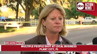 3 people shot, 1 killed at Plant City business over dispute about living on property - Video