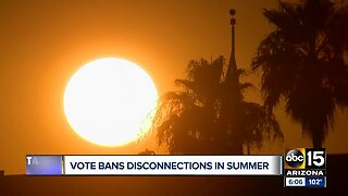 Vote bans disconnections in summer months for utility companies