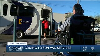 New mobile app might make SunVan services easier for riders