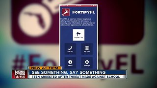 App to prevent school shootings launches in Fla.