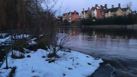 Flood Warnings in Place As Snow Melts in Shropshire