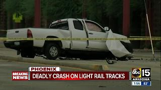 Light rail travel impacted after deadly crash in central Phoenix - Video