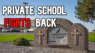 Oregon Private School Fights Back and Teachers Unions protest Reopening Again...
