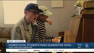 Tucson students make parody quarantine song for school competition