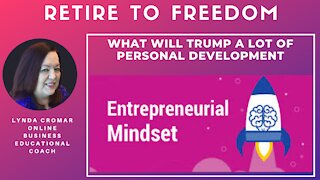 What will trump a lot of personal development