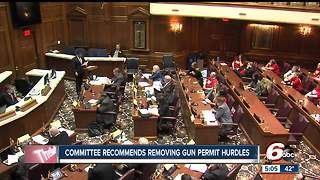Gun permit hurdles recommended to be removed by Indiana lawmakers - Video
