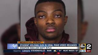Perry HallHS student released - Video