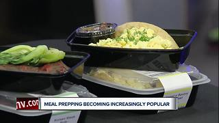 Meal prepping is becoming increasingly popular - Video