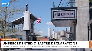 All 50 states are under a major disaster declaration for COVID-19