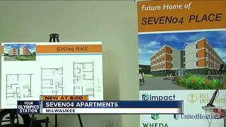 Affordable housing complex underway in Walker's Point - Video