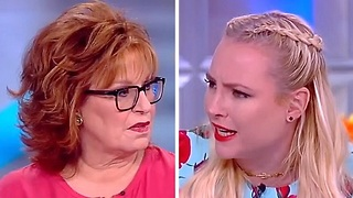 Meghan McCain rips Joy Behar over distasteful Melania joke on The View - Video